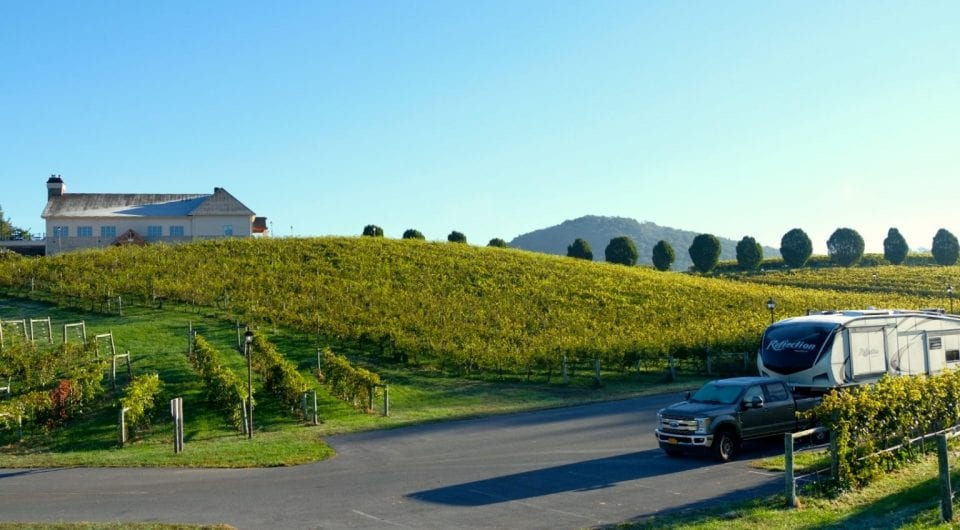 With Harvest Hosts, RVers can park their homes on wheels on site at a slew of wineries and vineyards across North America.
