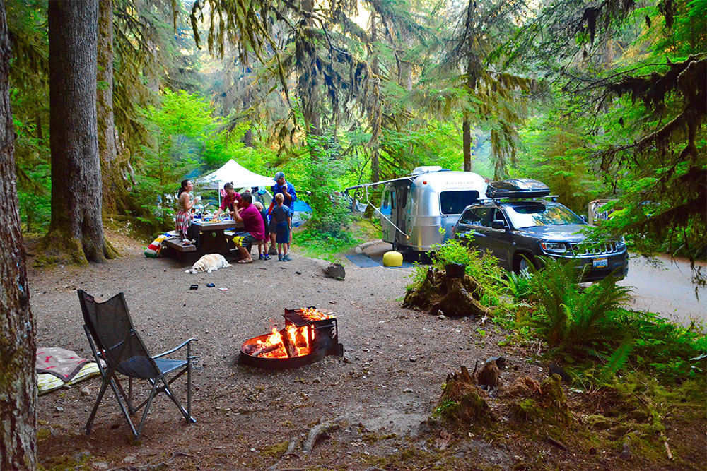 Eight Best Places For Summer Rv Camping Unique Rv