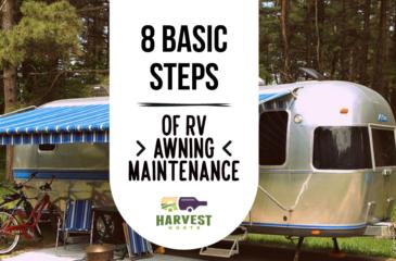 8 Basic Steps of RV Awning Maintenance