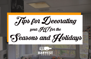 6 Tips for Decorating your RV for the Seasons and Holidays