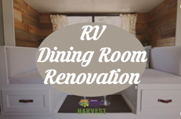 RV Dining Room Renovation