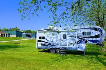 8 Wonderful Places for RV Camping on Lake Michigan