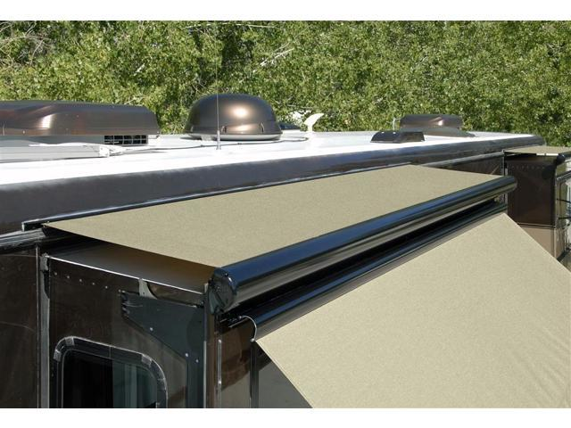 Inspect your RV slideout toppers as part of preventative maintenance.