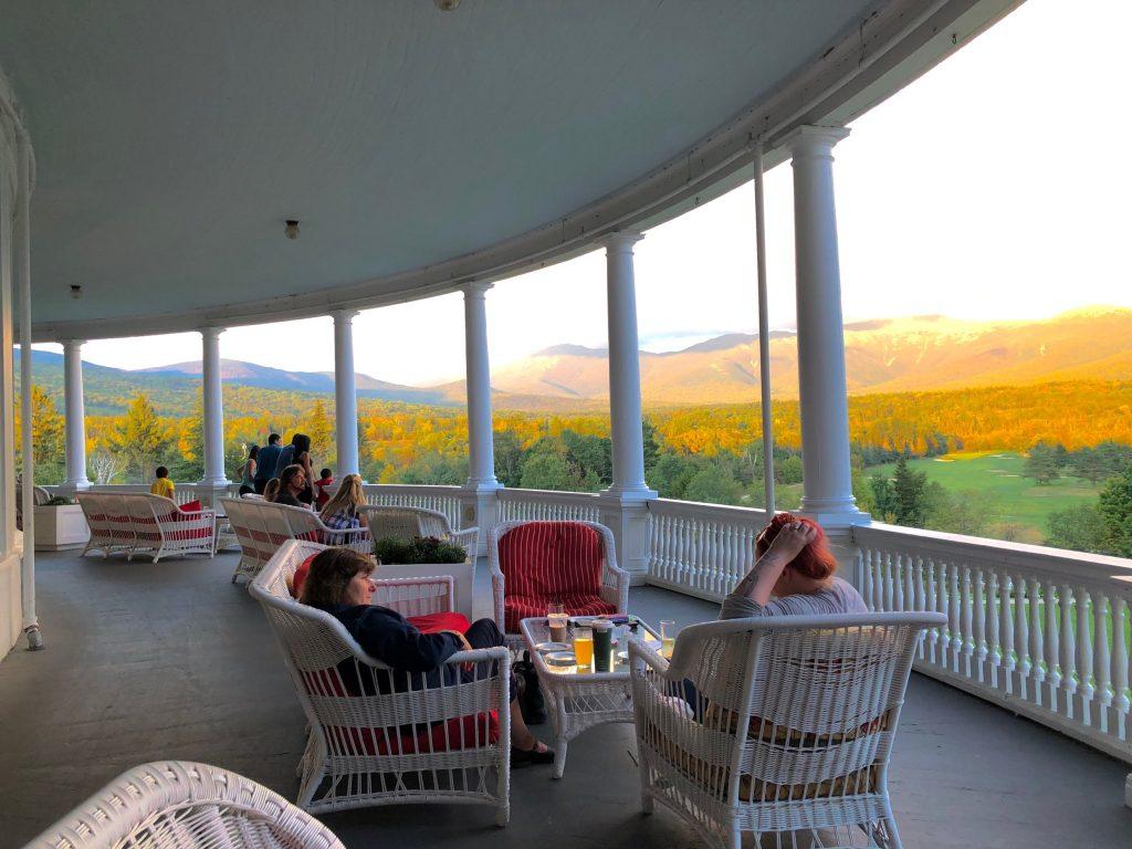 Mount Washington Hotel Deck