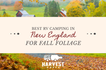 Best RV Camping in New England for Fall Foliage