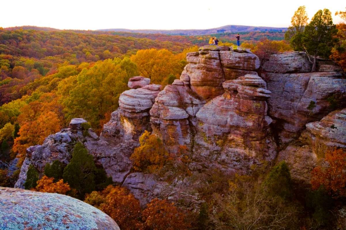 The Midwest has plenty of gorgeous fall locations to be found.