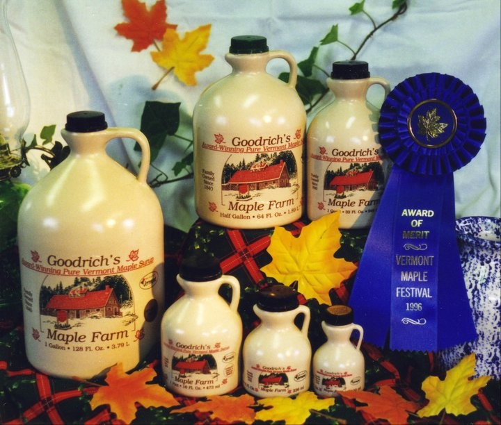 Goodrich maple syrup is a delicious additive to your fall fun adventures.