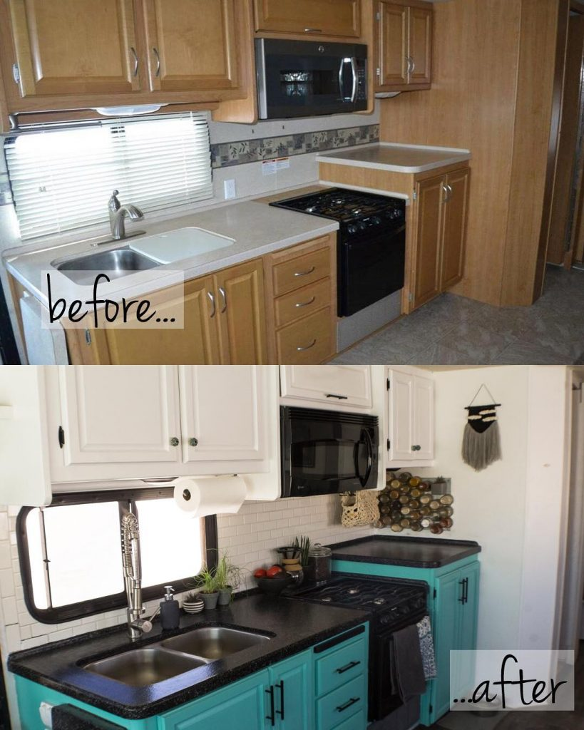 Redoing your RV's kitchen can make a big difference in the space.