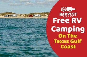 Free RV Camping on the Gulf Coast of Texas