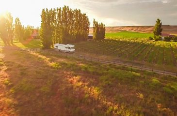 RV Camping on a Winery with Harvest Hosts