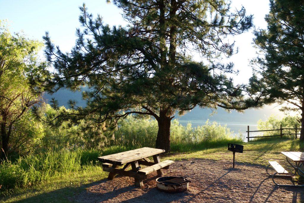 Camping at Cascade