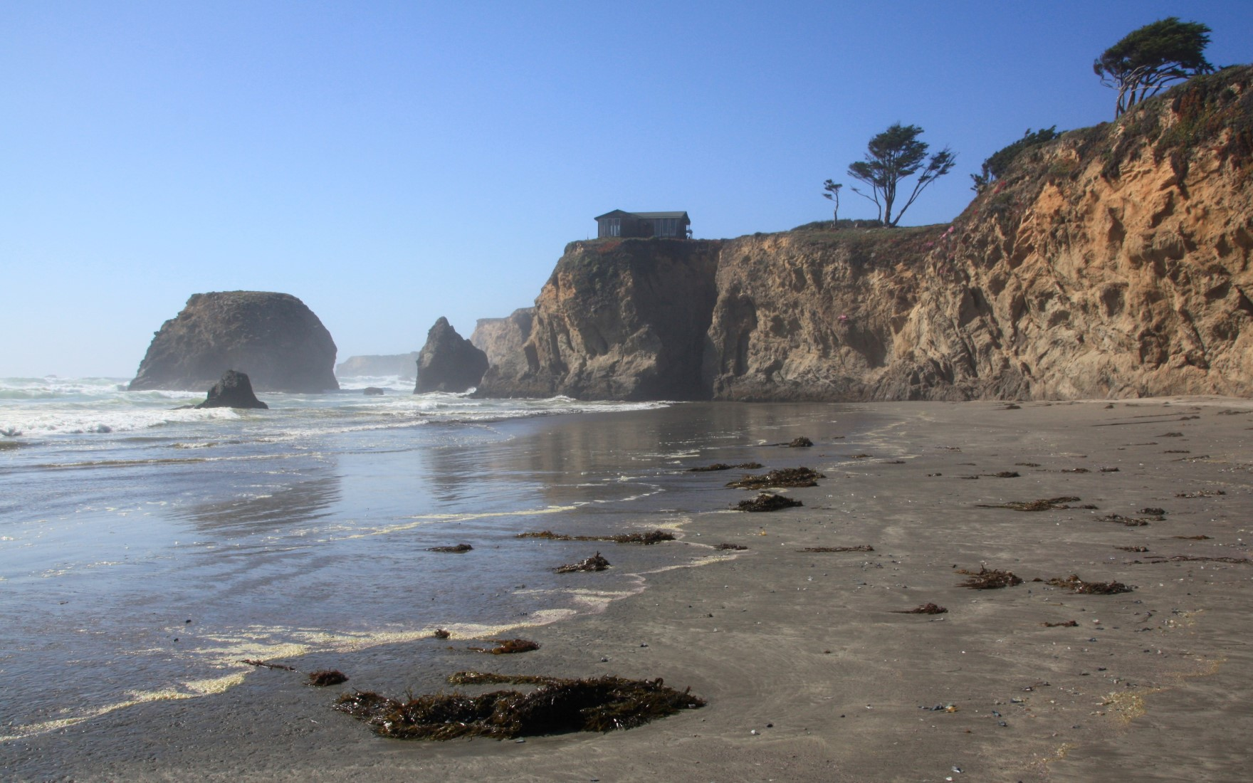 Fort Bragg, California is a nice and quiet place to take an RV vacation.