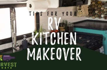 Tips for your RV Kitchen Makeover
