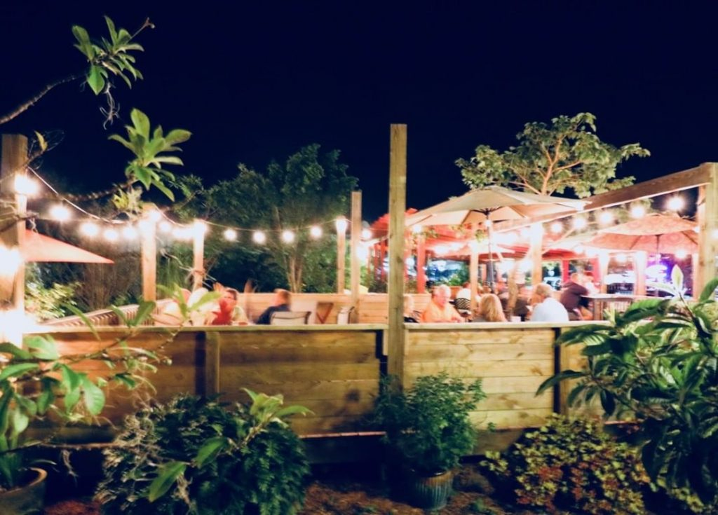 At Faded Bistro and Beer Garden, you can enjoy food and beer and then camp overnight for free.