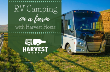 RV Camping on a Farm with Harvest Hosts
