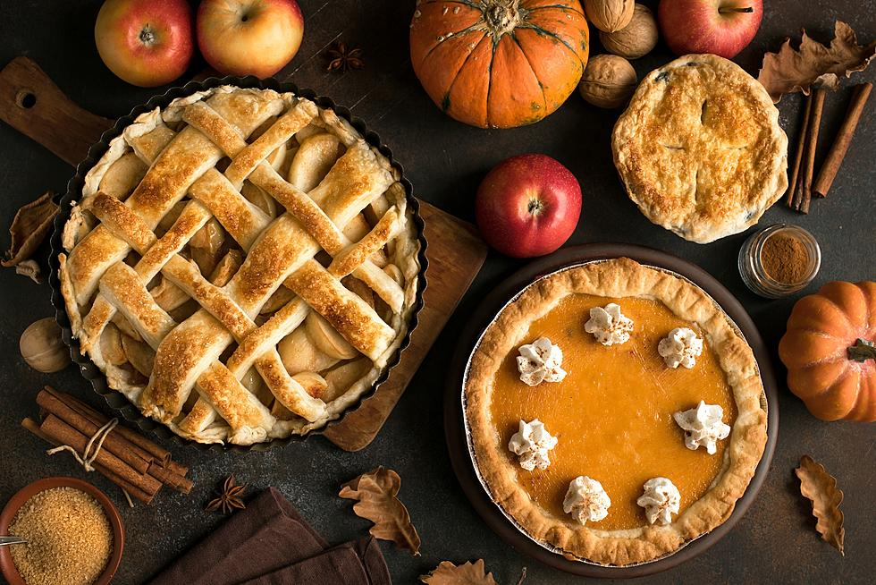 When cooking Thanksgiving dinner in your RV, you can make your pies the day ahead.