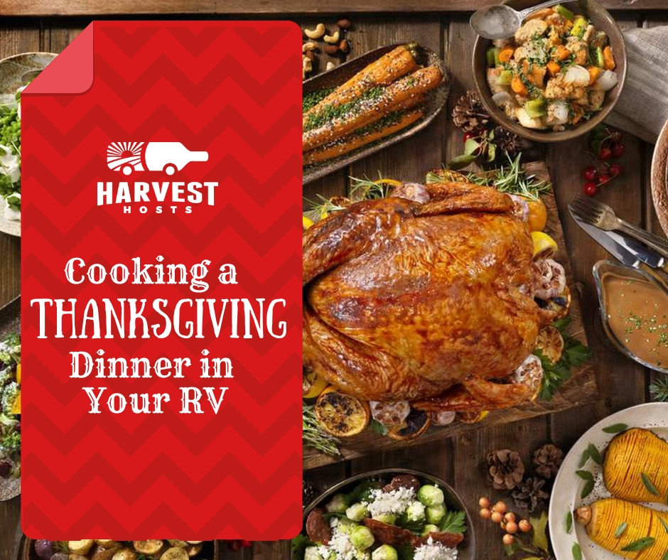Cooking a thanksgiving dinner in your RV