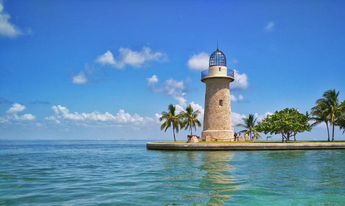 Biscayne National Park is a beautiful place to experience nearby Miami.