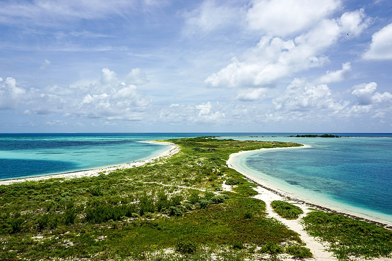 Dry Tortugas is a gorgeous national park located off of the Florida Keys.