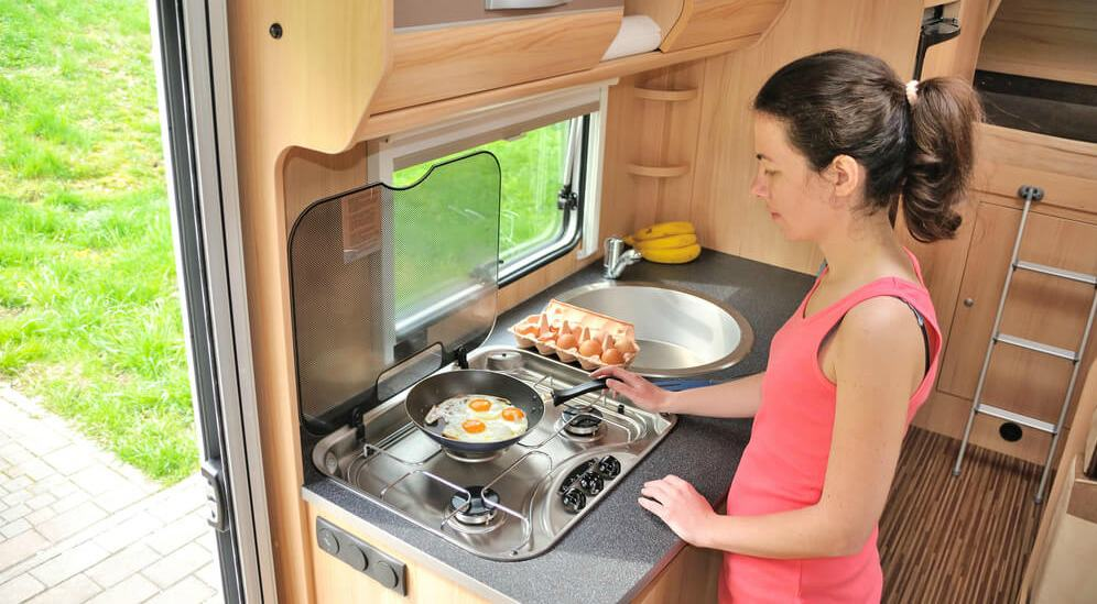 Cooking camp ,meals in your RV can save lots of money while camping.