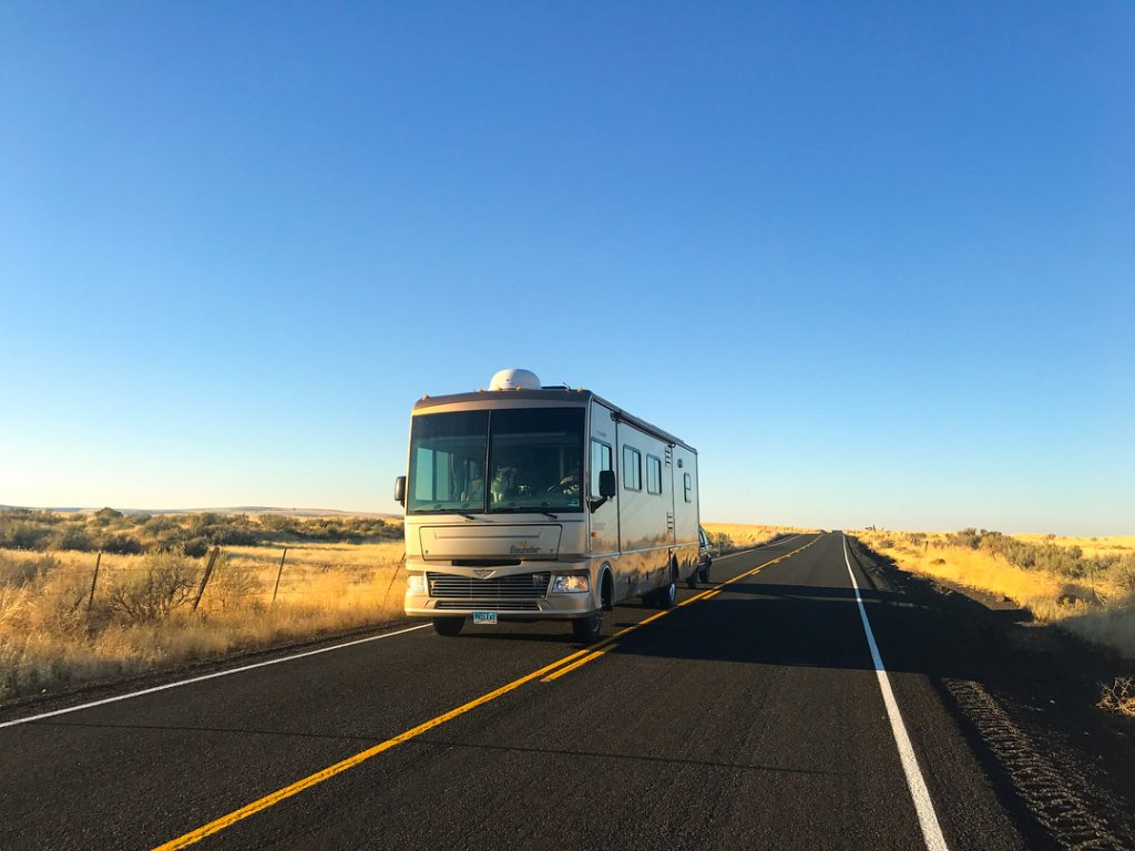 Consider traveling shorter distances to save money while RVing.