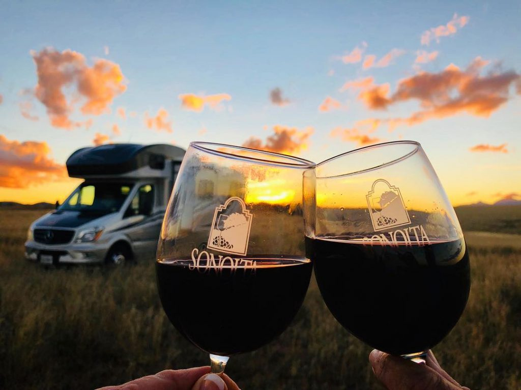 Harvest Hosts will have you watching the sunset and sipping wine simultaneously in no time at all.