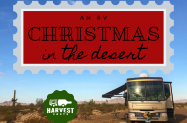 An RV Christmas in the Desert