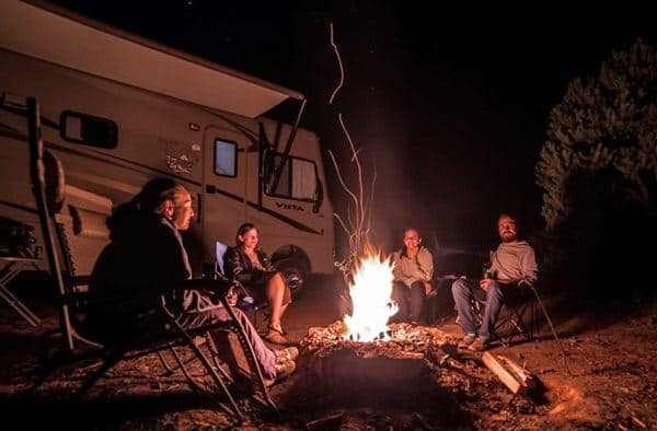 Splitting camping costs with family can make your trip much more affordable.