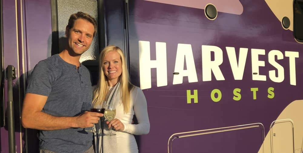 Joel Holland is the current owner of Harvest Hosts.