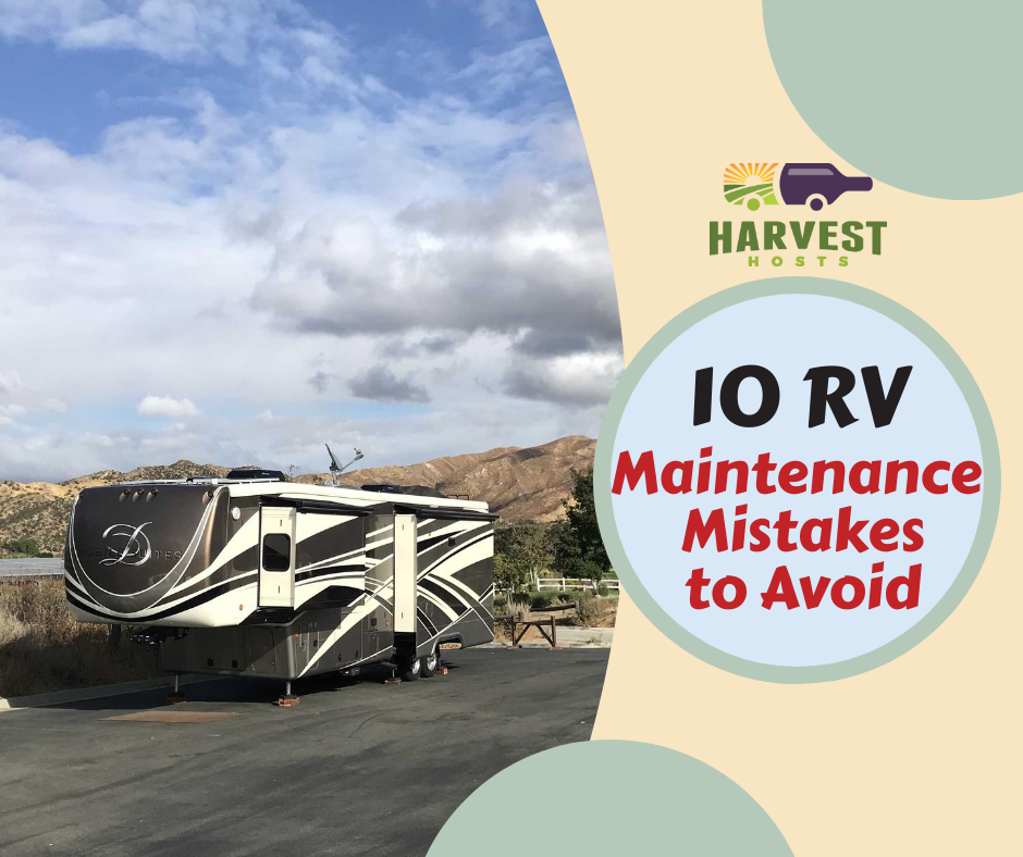 RV maintenance mistakes header