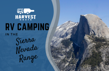 RV Camping in the Sierra Nevada Range