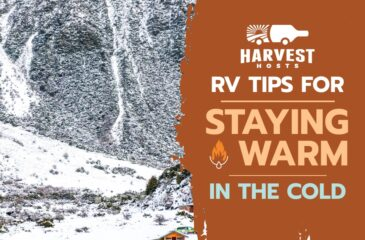 RV Tips For Staying Warm In The Cold