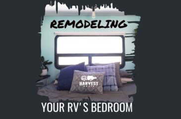 Remodeling your RV's Bedroom