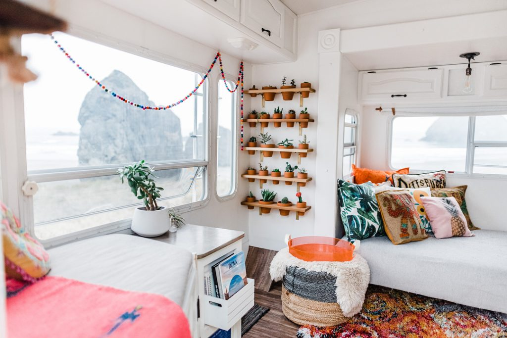 Mandy and Kevin Holesh have one of the best fifth wheel renovations in existence.
