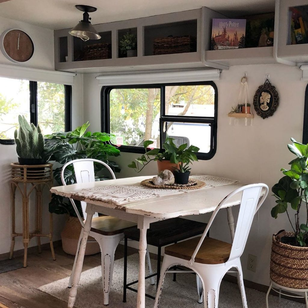 Renee's fifth wheel remodel is truly spectacular.