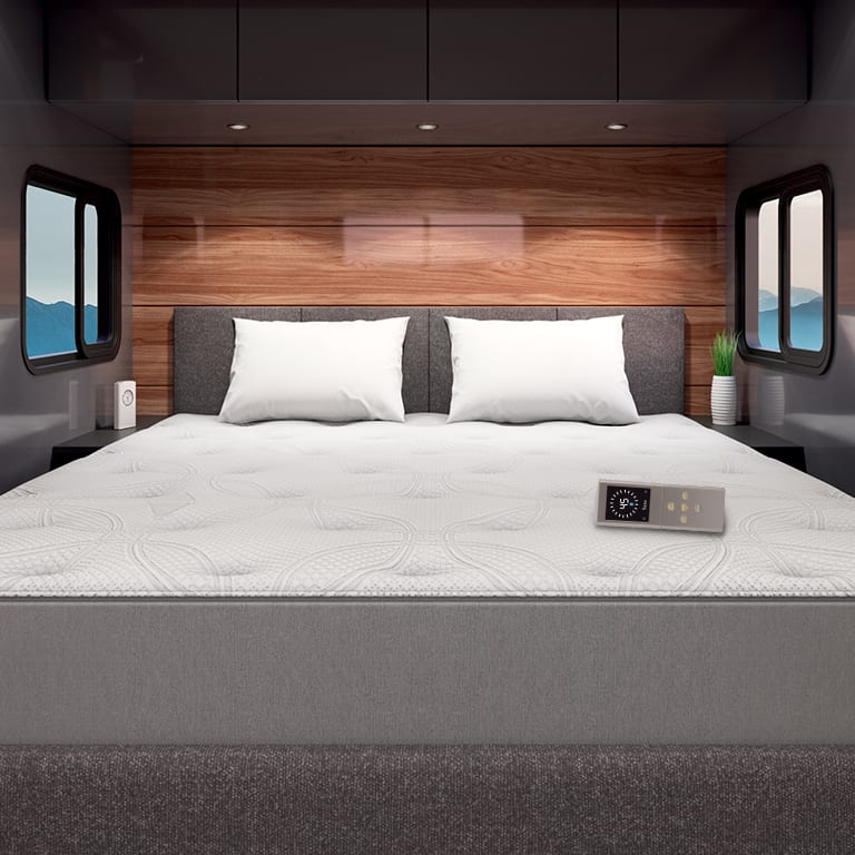 Sleep Number Beds are available for both RVs and traditional homes.