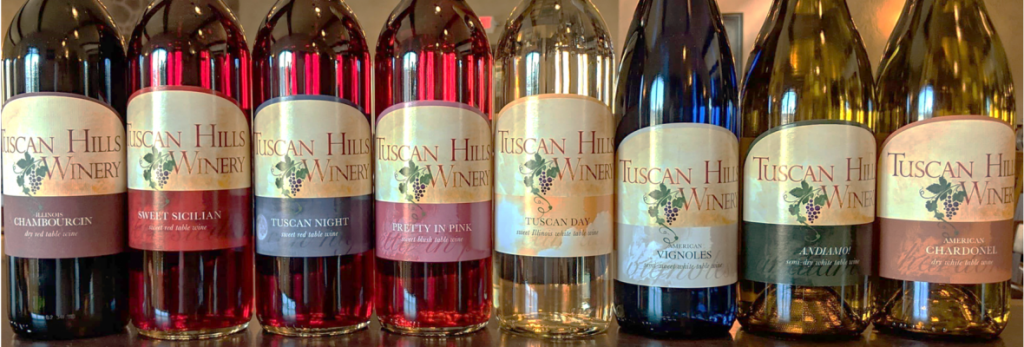 They feature a variety of white and red wines to suit any palate.