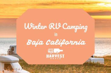 Winter RV Camping in Baja California
