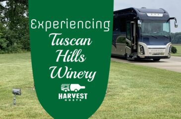 Experiencing Tuscan Hills Winery