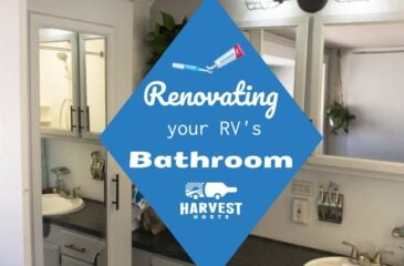 Renovating your RV Bathroom