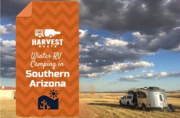 Winter RV Camping in Southern Arizona