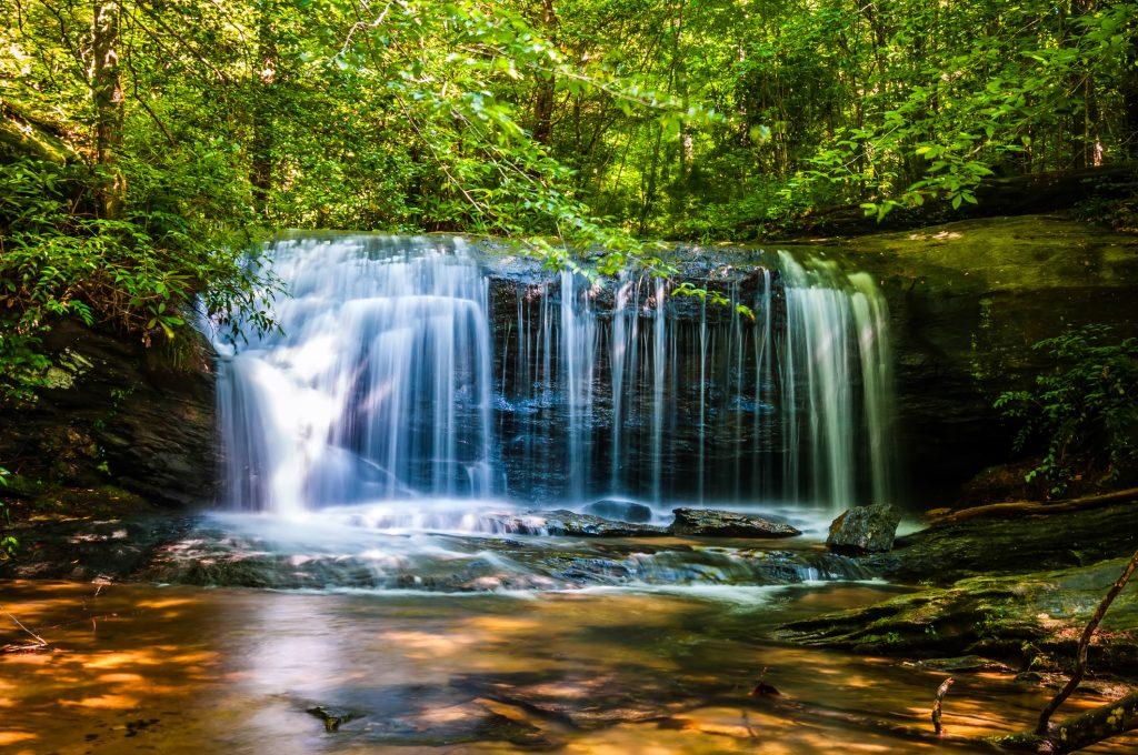 Beautiful Waterfall in Blue Ridge S. Carolina