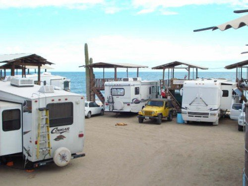 RVing in Baja California is excellent during the chilly winters.