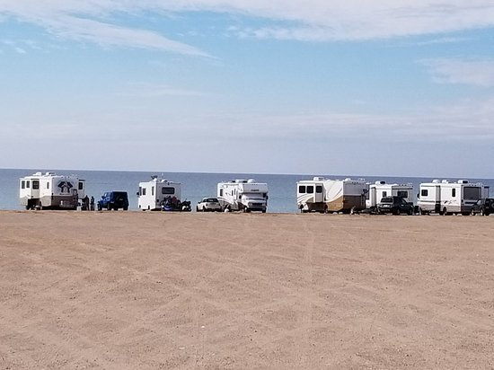 Camping on the beach in Baja California is almost as good as it gets.