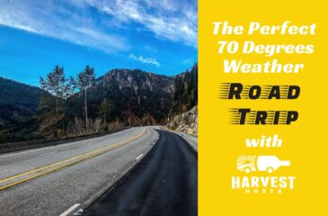 70 Degrees Weather Road Trip