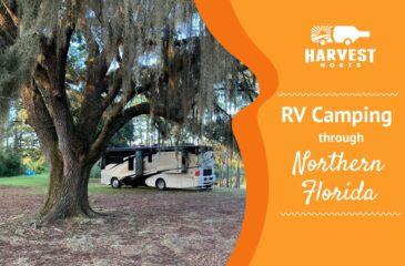 RV Camping through Northern Florida