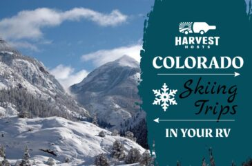 Colorado Skiing Trips in your RV