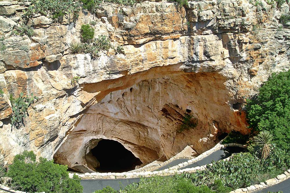 Natural Entrance to Carlsbad Cavern