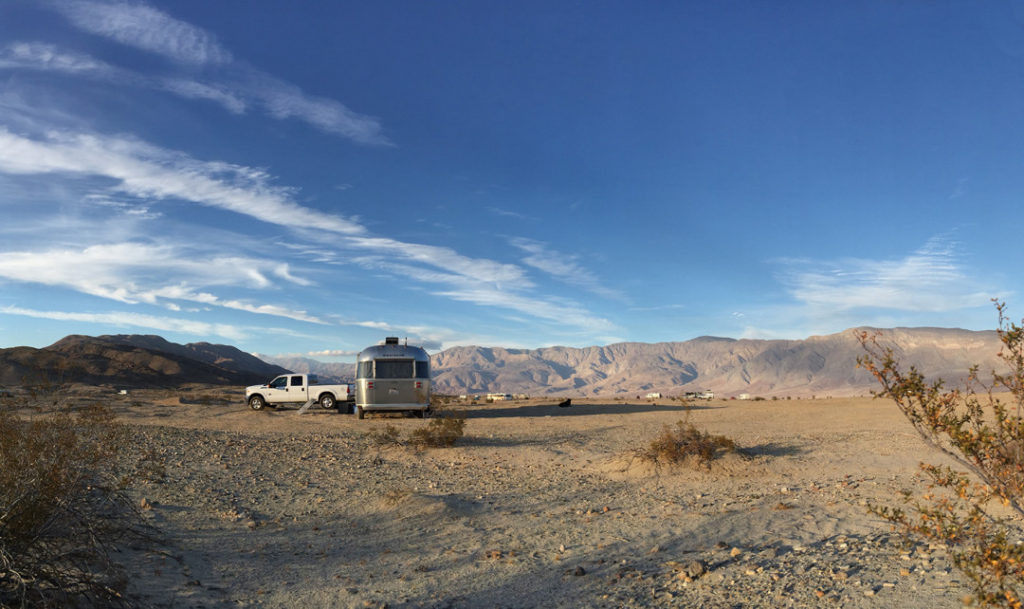 Southern California is the perfect place for winter boondocking.