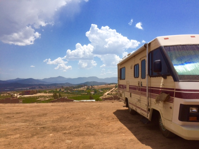 El Valle RV Park is a beautiful campground in the heart of Baja wine country.